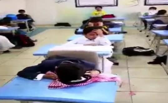 SCHOOL STUDENTS CRYING HARD AFTER THE NEWS OF TEACHER RETIREMENT