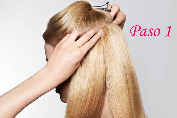 Imagen perfecta peinados con extensiones Fotos de los cortes de pelo de las tendencias - peinados con extensiones de clip   Elainacortez