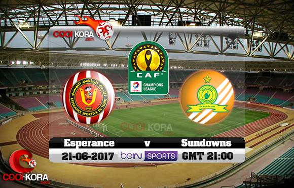 مشاهدة مباراة الترجي وصن داونز اليوم 21-6-2017 دوري أبطال أفريقيا