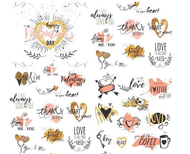Free Valentines Stickers