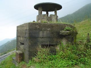 Passo Bunker in the Clouds. Danang. Vietnam