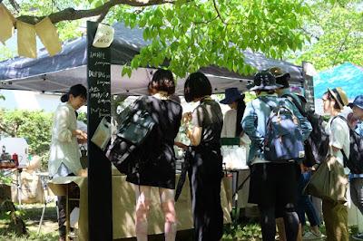 クラフトフェアまつもと2017 ヤマとカワ珈琲店
