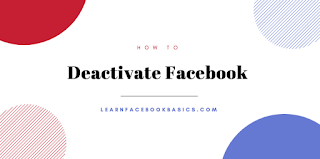 Deactivating Facebook Account Temporarily With Pictures