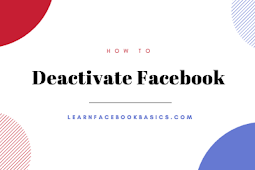 Deactivate Facebook Account Temporarily With Pictures