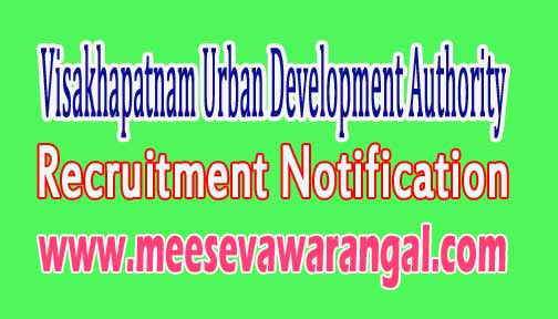 Vuda (Visakhapatnam Urban Development Authority) Recruitment Notification 2016