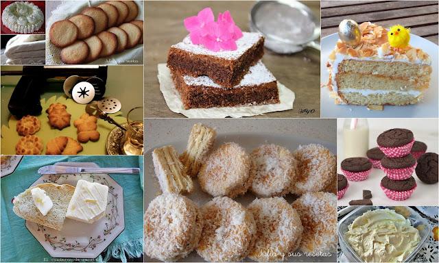 La mantequilla y los dulces. Julia y sus recetas