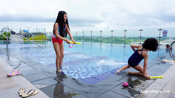 Richmonde Hotel Iloilo - Iloilo hotel - family travel - Philippines - scenic swimming pool