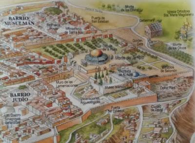 Explanada de las Mezquitas en Jerusalen
