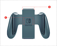 Nintendo Switch front grip