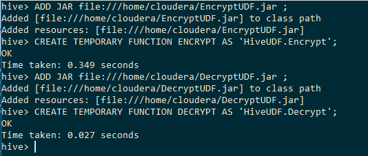 Hive UDF example - Encrypt Decrypt data at Column level | Dig into