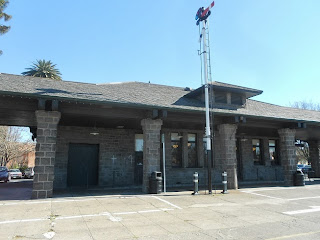 santa rosa california train depot
