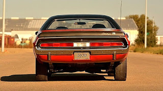 1970 Dodge Challenger TA 340 Six Pack Rear