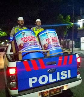 Semarakan Ramadan, Satlantas Polres Lumajang  Gelar Patroli Sahur