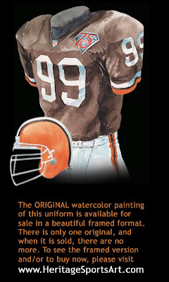 Cleveland Browns 1994 uniform