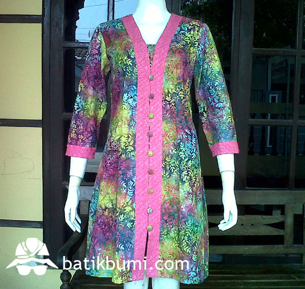Tunik BATIK CAP Smoke DB 059