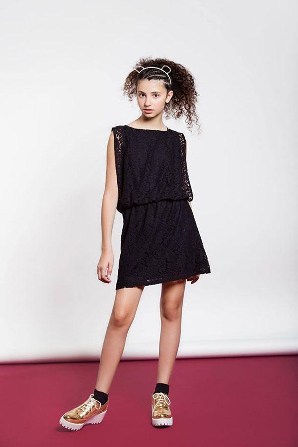 vestidos para nenas moda juvenil invierno 2017
