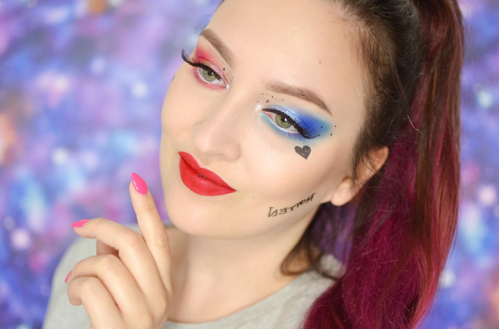 HARLEY QUINN SUICIDE SQUAD makijaż tutorial