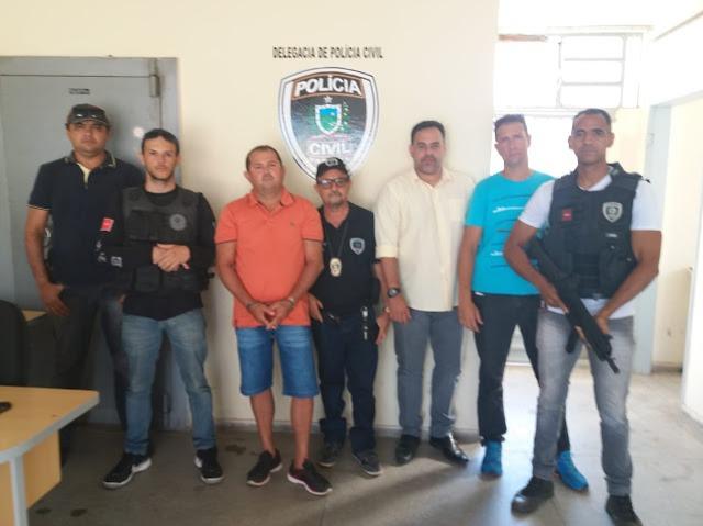 GTE de Cajazeiras e policiais civis de Uiraúna prendem elemento foragido da justiça nessa terça-feira