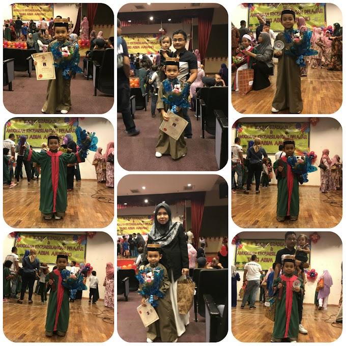 Naik Pentas lagi   Majlis Graduasi Taski Abim Huffaz 2017