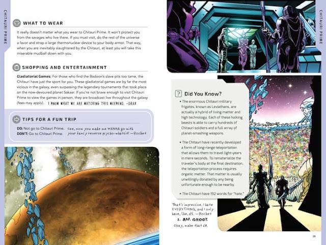 Guía cósmica de Marvel
