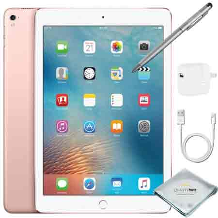 Apple iPad Pro 9.7 Inch Wi-Fi 128GB Rose Gold + Quality Photo Extras