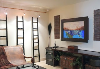 decoración sala con tv