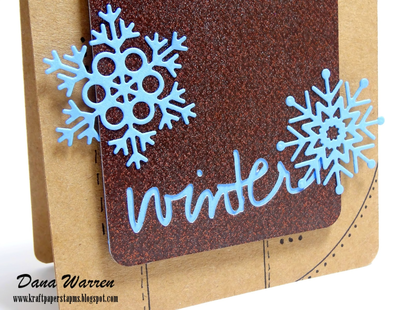 Dana Warren - Kraft Paper Stamps - Winnie & Walter