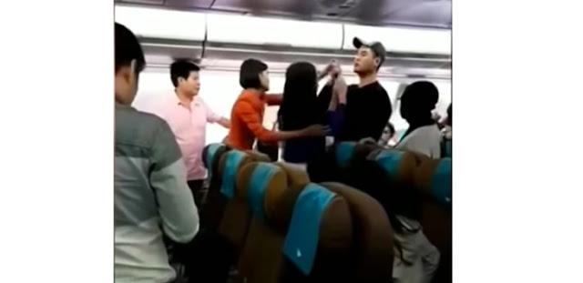 Viral Video Penumpang Ribut di Pesawat Garuda, Ternyata Ini Penyebabnya
