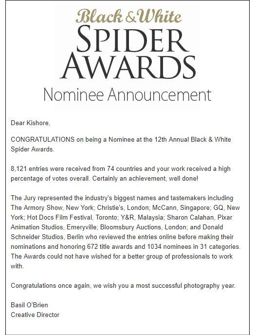 Award Announcement