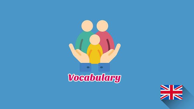 Kosakata Bahasa Inggris Kehidupan Sosial Disertai Gambar, Audio Dan Pronunciation