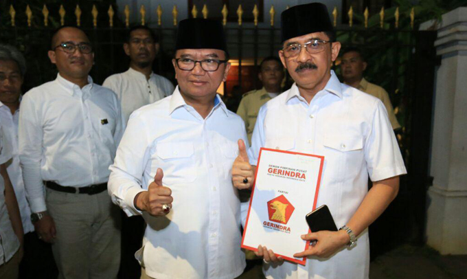 Tinggalkan Prof Andalan, Gerindra Resmi Usung Agus Arifin Nu'Mang di Pilgub Sulsel