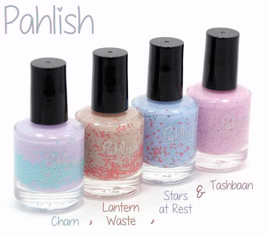 Pahlish Charn, Lantern Waste, Stars at Rest and Tashbaan Reviews & Swatches