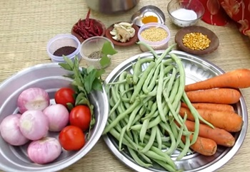 Wow…. Amazing Taste Carrot Beans Recipe