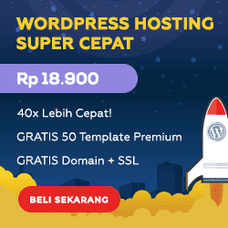 Beli Hosting Gratis 50 Template WordPress Premium