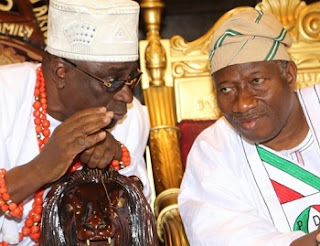 Jonathan Did His Best, Buhari Should Realize He's No More A Soldier - Oba Akiolu Blasts The President