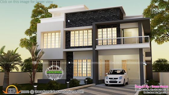 Simple contemporary house