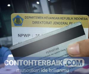 Contoh NPWP
