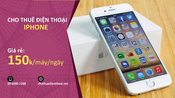 cho thuê điện thoại iphone