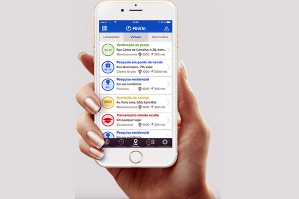Como usar PiniOn para ganhar dinheiro respondendo pesquisas no celular
