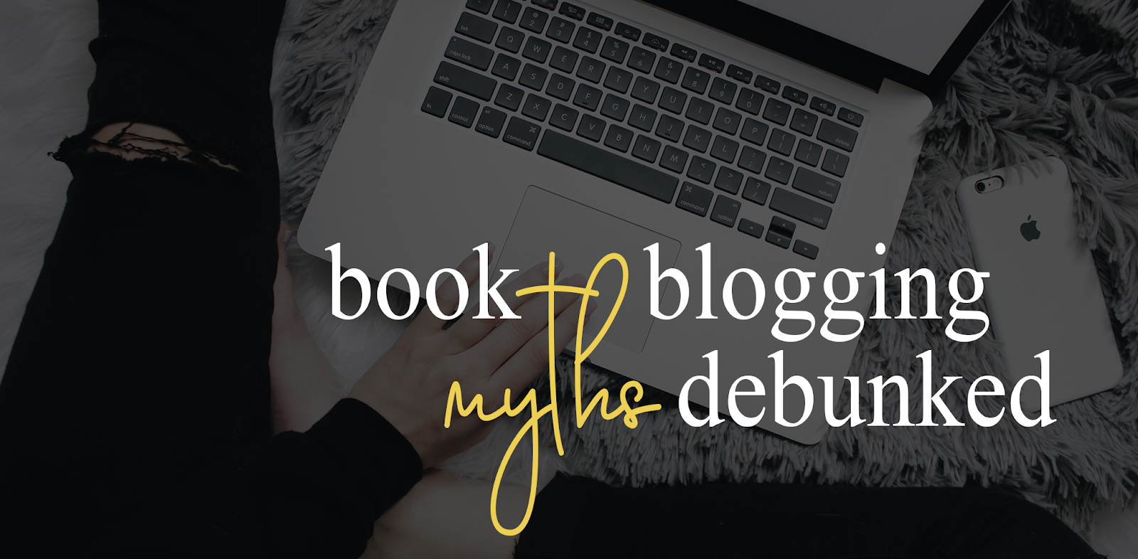 Book Blogging Myths Debunked Books Nest Graphic