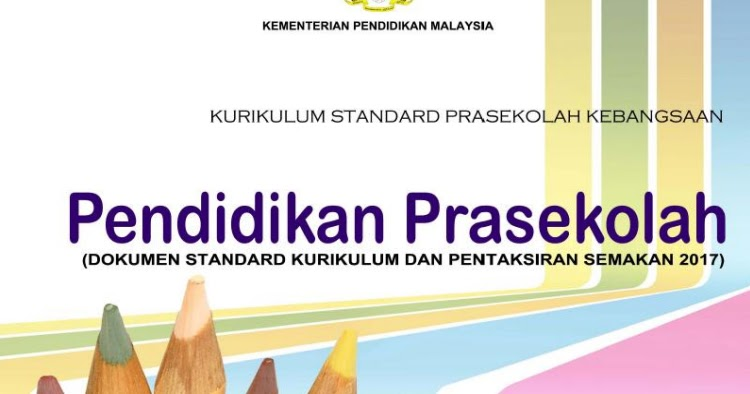 Kurikulum Standard Prasekolah Kebangsaan Pembelajaran Prasekolah