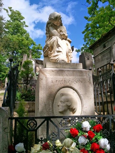 Friedhof Père Lachaise Paris (Foto © Maike Grunwald)