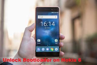 Unlock Bootloader on Nokia 6