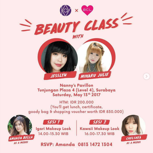 beauty class miharu julie dan kay collection