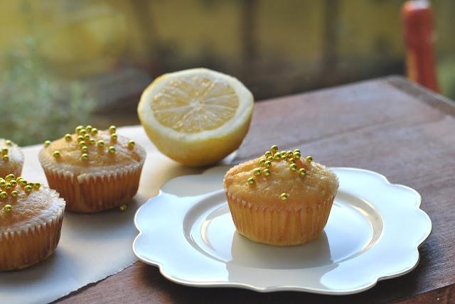 Zitronenkuchenmuffins