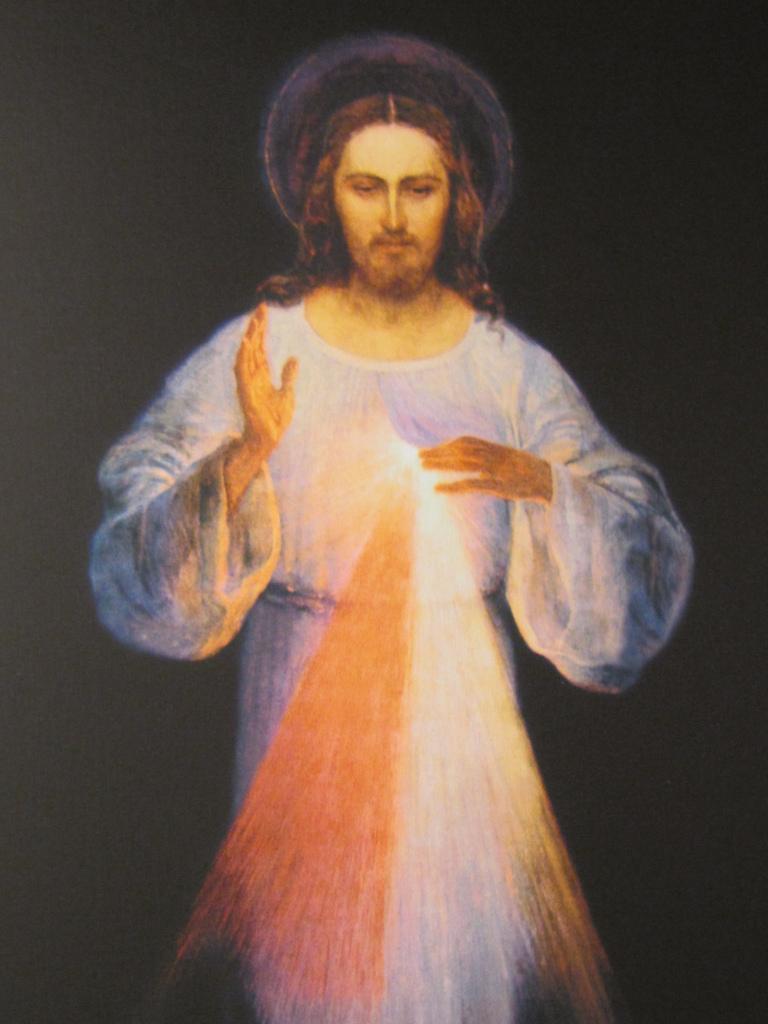 Divine mercy image original