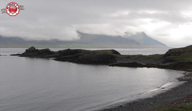 Fiordos del este en Islandia