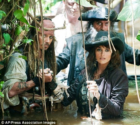 Penelope Cruz on dream job with Pirates Of The Caribbean star