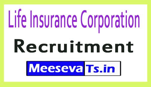 Life Insurance Corporation LIC Recruitment