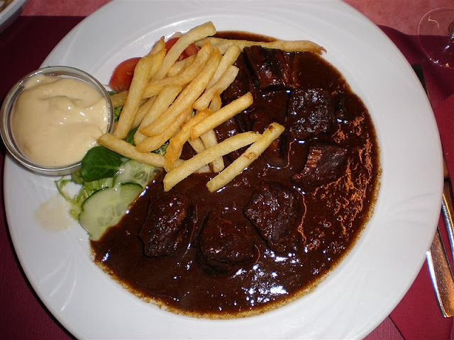 Prato belga típico de Flandres